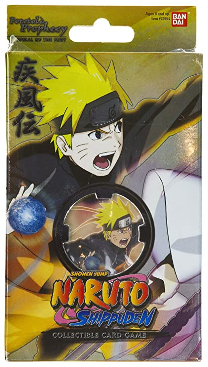 Amazon.com: Naruto foretold Prophecy Tema Decks Trading Card ...
