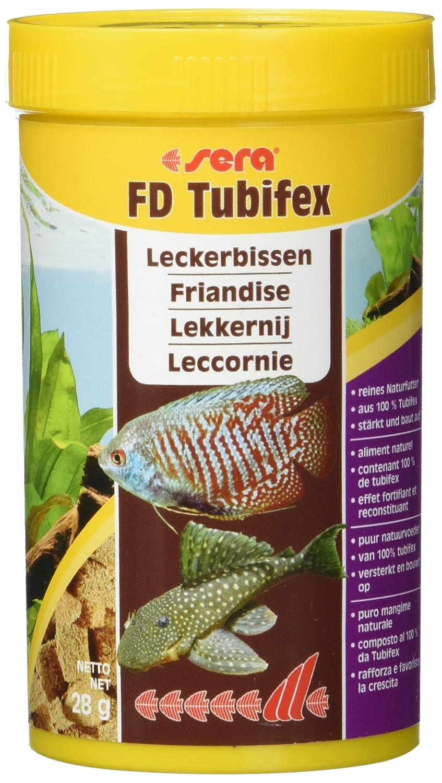 SERA Nourriture pour Aquariophilie Tubifex 250 ml 1350
