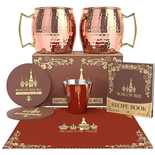 Krown Kitchen Moscow Mule Copper Mugs