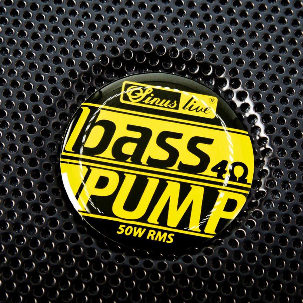 Conrad BASS PUMP III 8 OHM Hauts Parleurs Auto