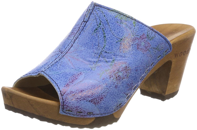 Woody Elly, Zuecos para Mujer 36 EU Azul (Curacao 035)