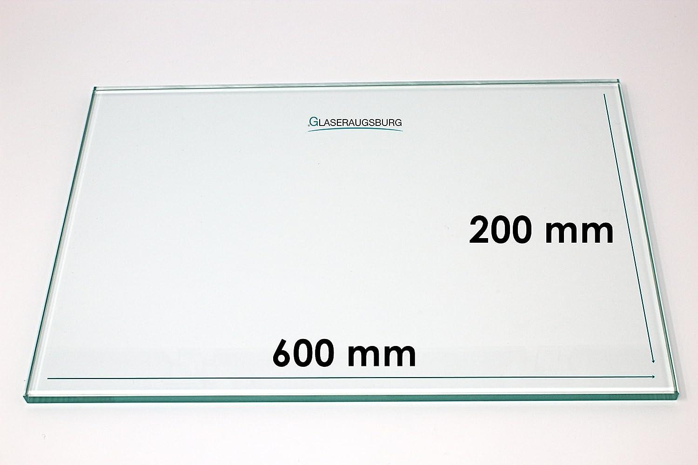 16,5 cm x 13 cm Glasplatte//Glasregal 165 mm x 130 mm Klarglas 4 mm stark alle Ma/ße lieferbar