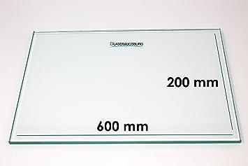Glasplatte//Glasregal 310 mm x 310 mm Klarglas 4 mm stark alle Ma/ße lieferbar