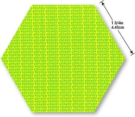 Sizzix Bigz Troquel Hex/ágono 1 3//4 lados B/&W
