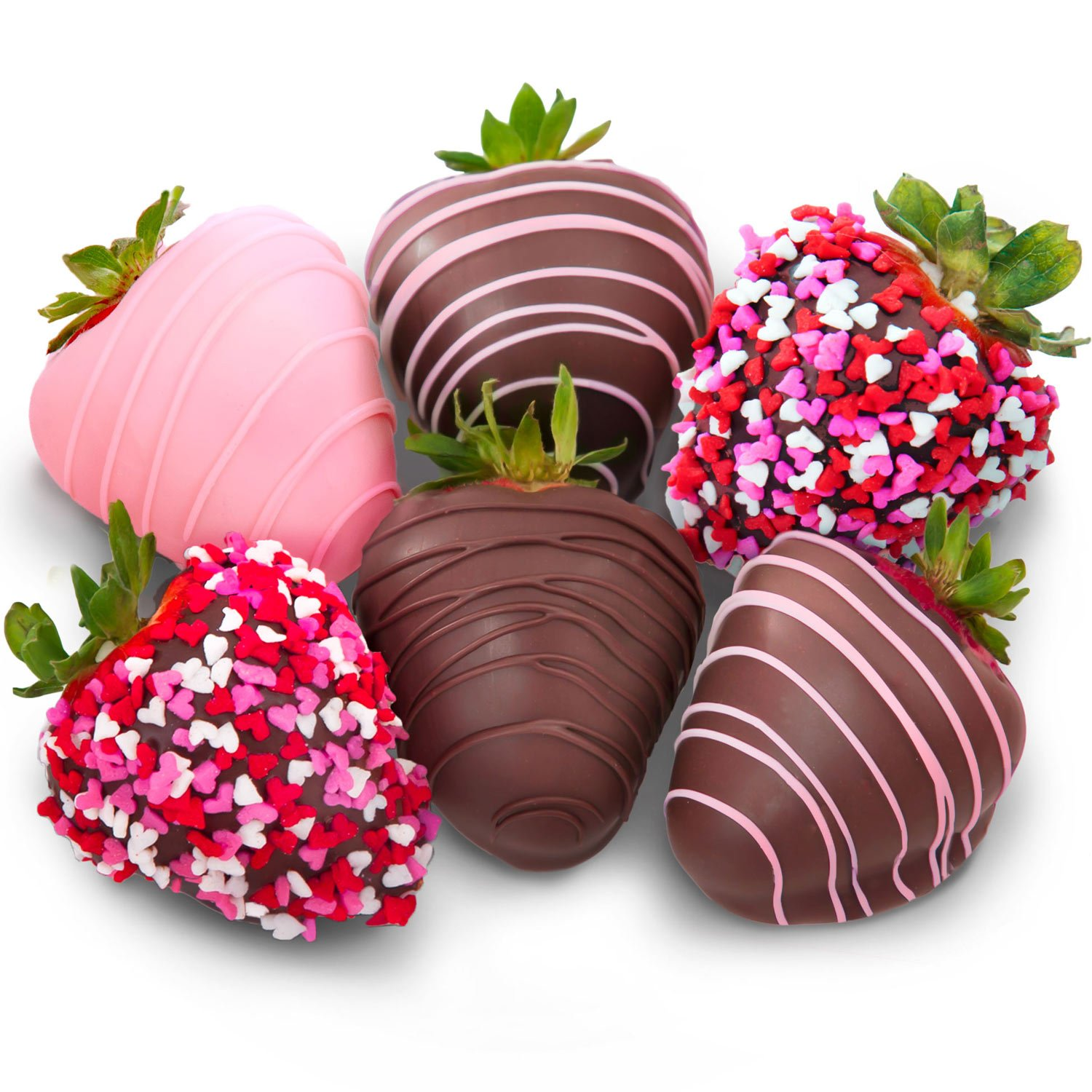 Amazon.com : Golden State Fruit 6 Love Berries Chocolate Covered ...