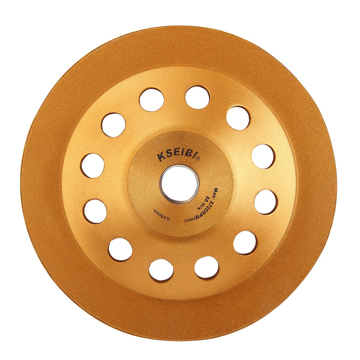 KSEIBI 644060 Super Turbo Diamond Cup wheel 7 Inch (180 mm) With Reduced Ring by KSEIBI (Image #8)