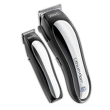 WAHL- Maquinilla de afeitar eléctrica recargable, negro o plateado.