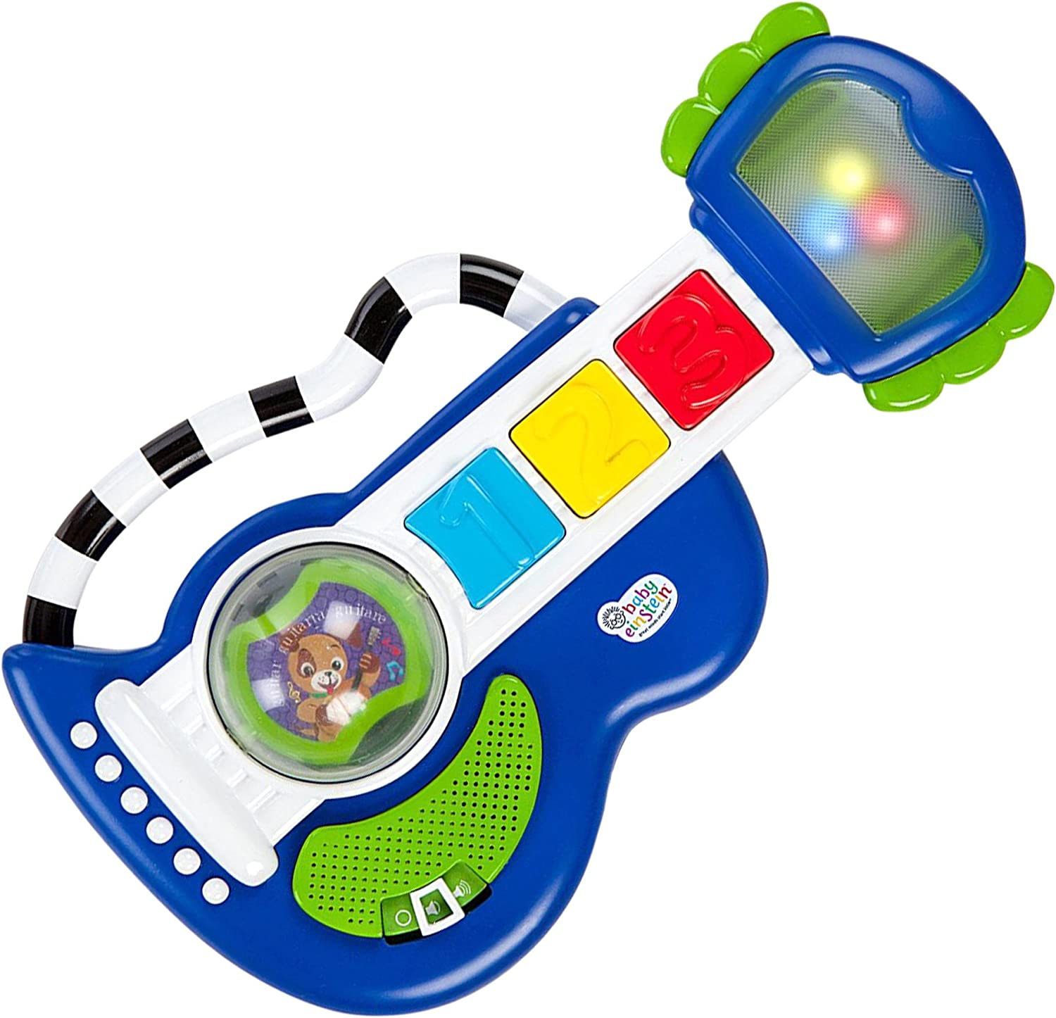 Baby Einstein Light /& Roll Guitar/™ Guitare lumineuse pour petits rockeurs Rock