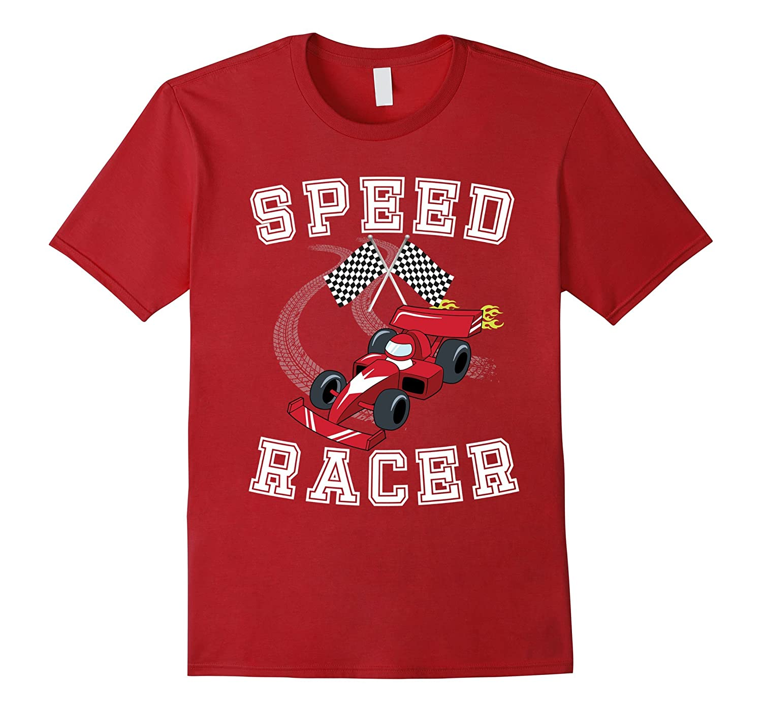 Speed Racer, Short SleeveT-shirt for Boys and Teenagers