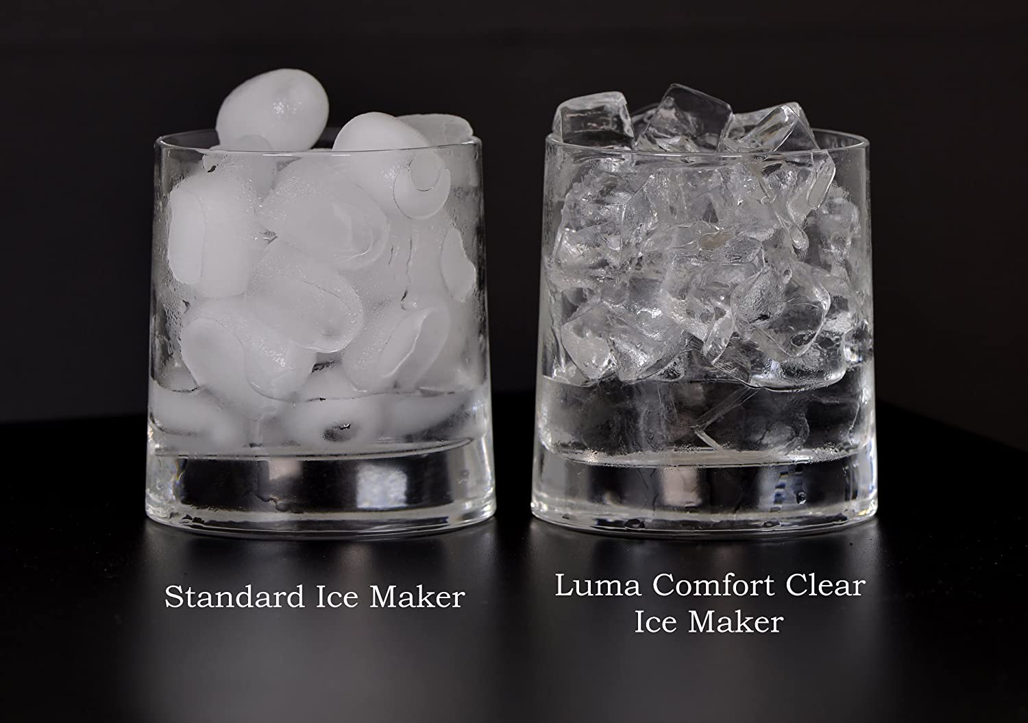 Luma Comfort Im200ss Portable Clear Ice Maker Stainless Steel