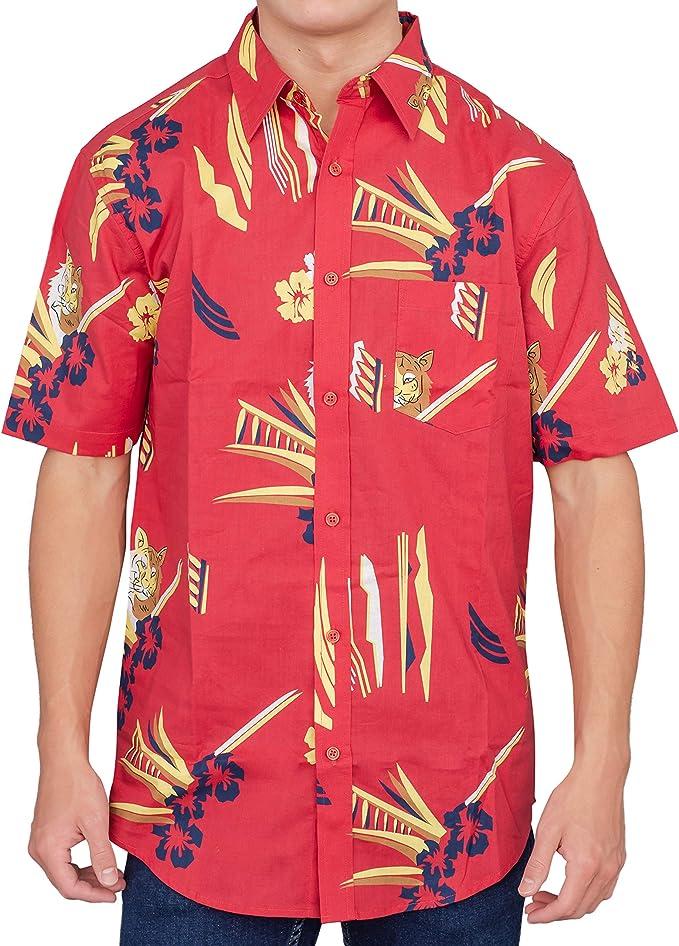 Scarface Tony Montana - Camiseta Hawaiana para Adulto - Rojo - XX-Large: Amazon.es: Ropa y accesorios