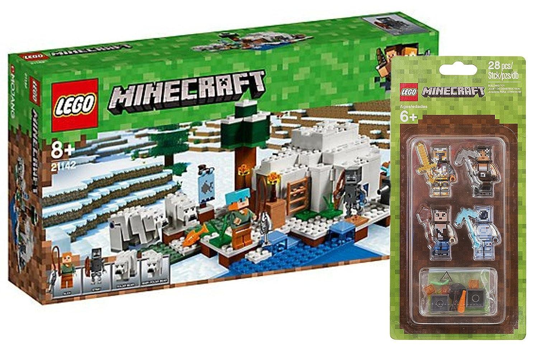 Minecraft Minecrafttm De Figurines 21142 Igloo GlaceLego® Lego dCxreBWo