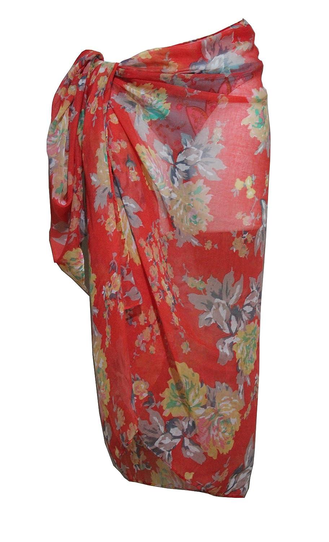 Tamari Beachwear Sarongs/Cover-Ups/Beach Wrap for Women, UK One Size UK One Size (Green)