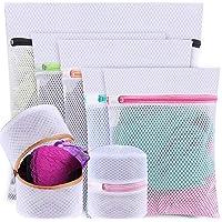 HOME-MART 7 Pack Mesh Laundry Bags, 1 Extra Large &2 Large &2 Medium & 2 Bra Bags, Washing Machine Wash Bags, Lingerie…