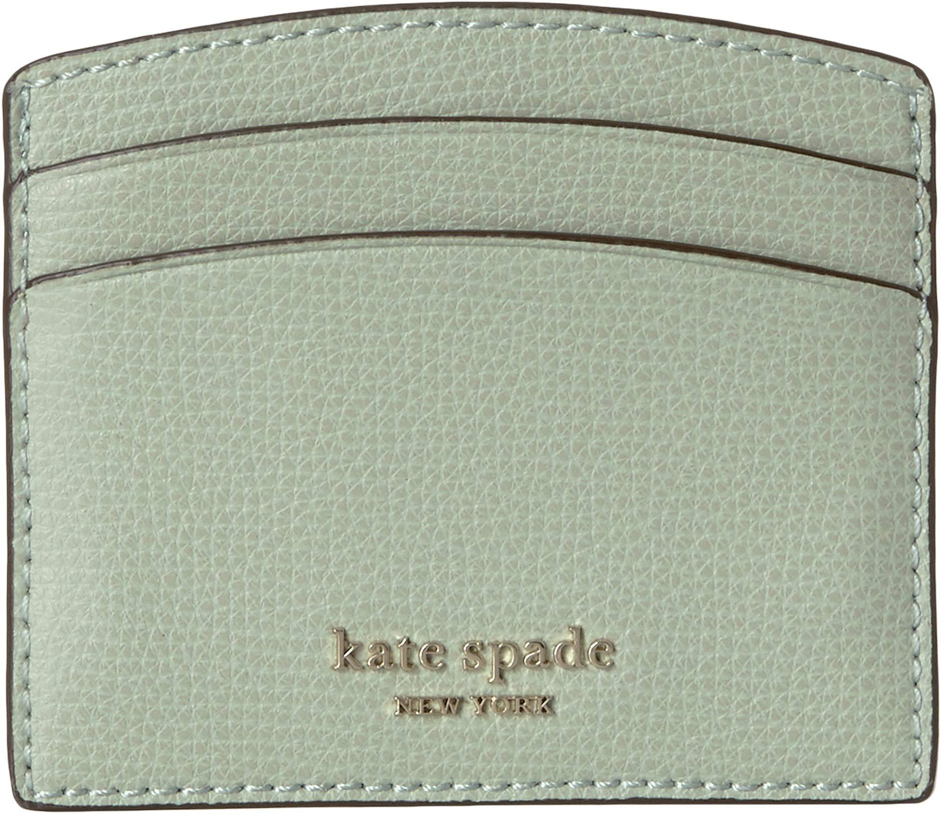 Kate Spade New York Women's Sylvia Card Holder, Light Pistachio, Green, One Size