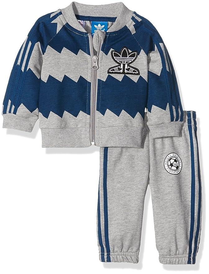 adidas Soccer Superstar Chándal para niños: Amazon.es: Ropa y ...