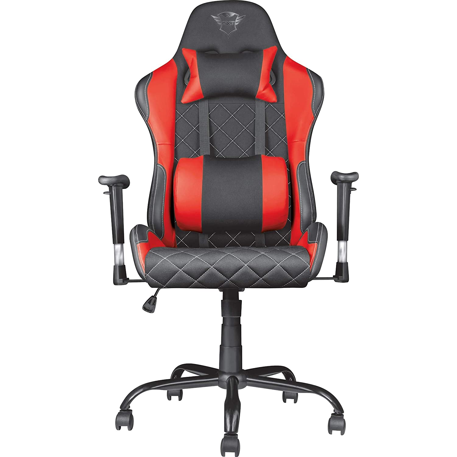 Red//Black Trust International B.V 22256 Trust GXT 705 Ryon Gaming Chair Full Ergonomic Design