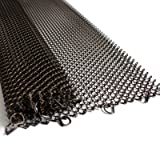 Midwest Hearth Fireplace Screen Mesh Curtain. 2