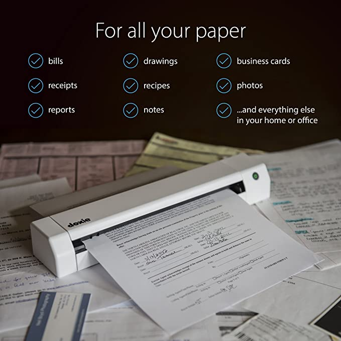 amazon com doxie go se the intuitive portable scanner with