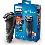 Philips Elektrischer Trockenrasierer Series 3000 mit ComfortCut-Klingen S3510/06, Präzisionstrimmer