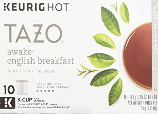 Tazo Awake English Breakfast Black Tea K-Cup