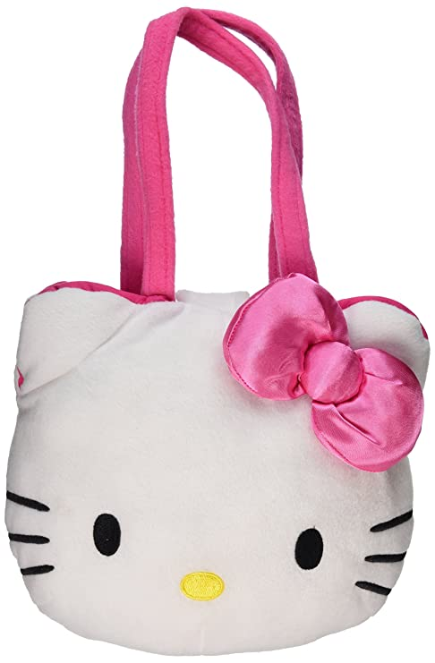 a8b76b08cb4d Amazon.com  Hello Kitty 9 Plush Head Handbag Purse Embroidery  Toys ...