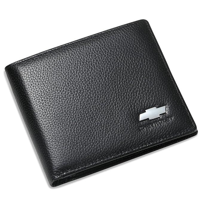 Amazon.com: Chevrolet Bifold cartera con 3 ranuras de ...