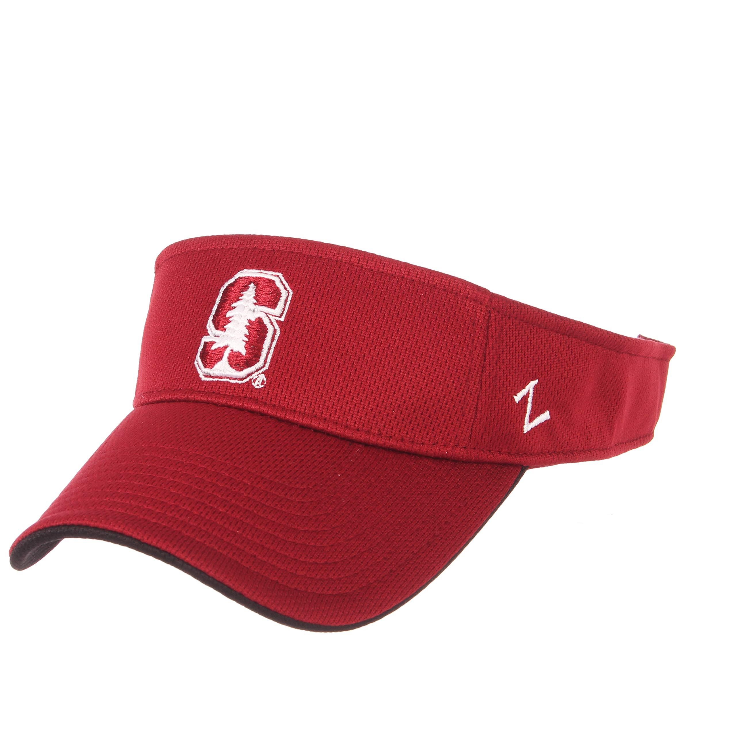 Zephyr NCAA Stanford Cardinal Men's TC Volley Visor, Adjustable, Cardinal