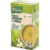 Knorr Las Clásicas Crema Ligeresa Zanahoria y Puerro