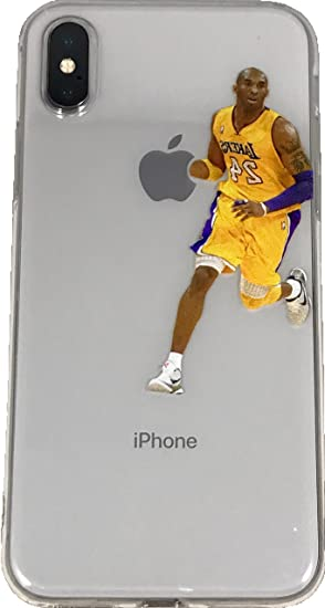 8c9366adc5b32 Soft TPU Basketball Case with Your Favorite Past and Present Players  (Bryant Dribble, iPhone X)