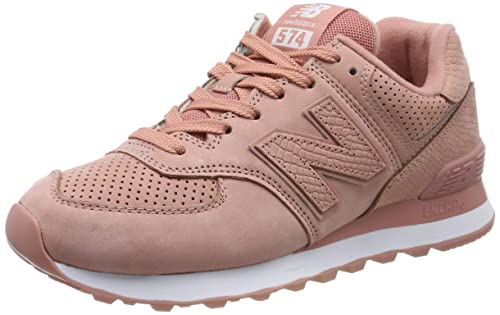 New Balance Mujer Rosa ML574 Serpent Luxe Zapatillas: Amazon.es: Zapatos y complementos