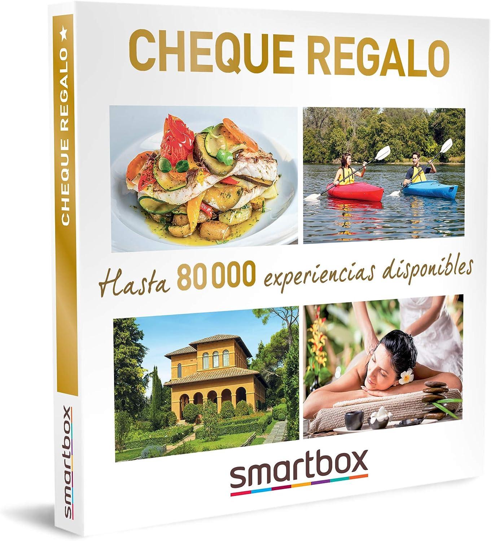SMARTBOX - Caja Regalo - Cheque Regalo 49,90 - Idea de Regalo - Cheque Regalo válido para Usar en smartbox.com: Amazon.es: Deportes y aire libre