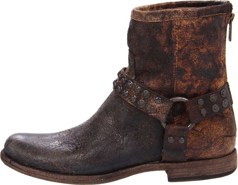 FRYE Womens Phillip Studded Harness Boot