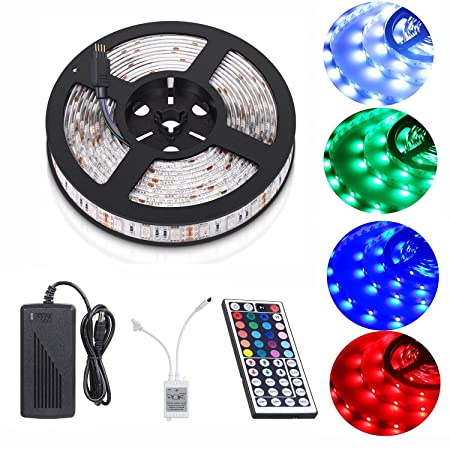 Led Strip LightRixow LED Tape LightsTV Backlight Bias Lighting Kit 5M 150  sc 1 st  Amazon UK & Led Strip LightRixow LED Tape LightsTV Backlight Bias Lighting Kit ...