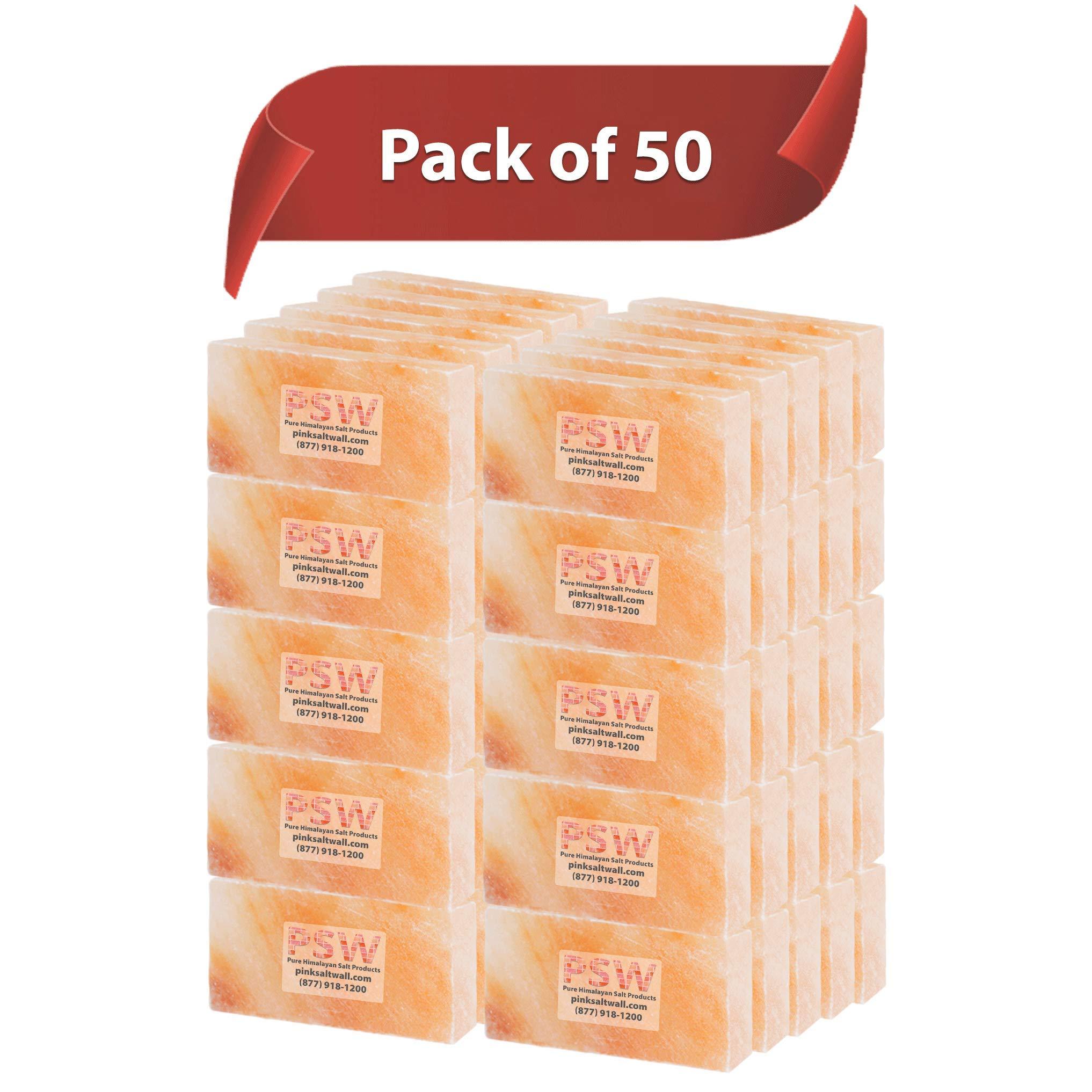 100 % Himalayan Salt Bricks, Set of 50