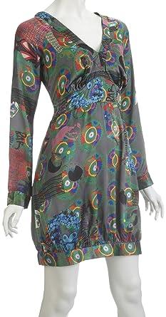 57a342039 Desigual - Robe - Portefeuille - Femme: Amazon.fr: Vêtements et ...