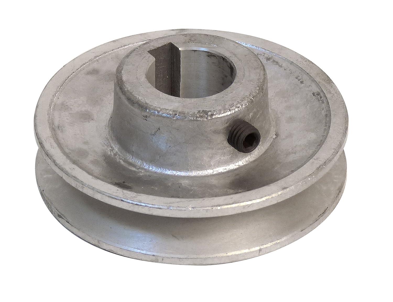 Polea Fartools 117245 aluminio, di/ámetro 80 mm, calibre 24 mm