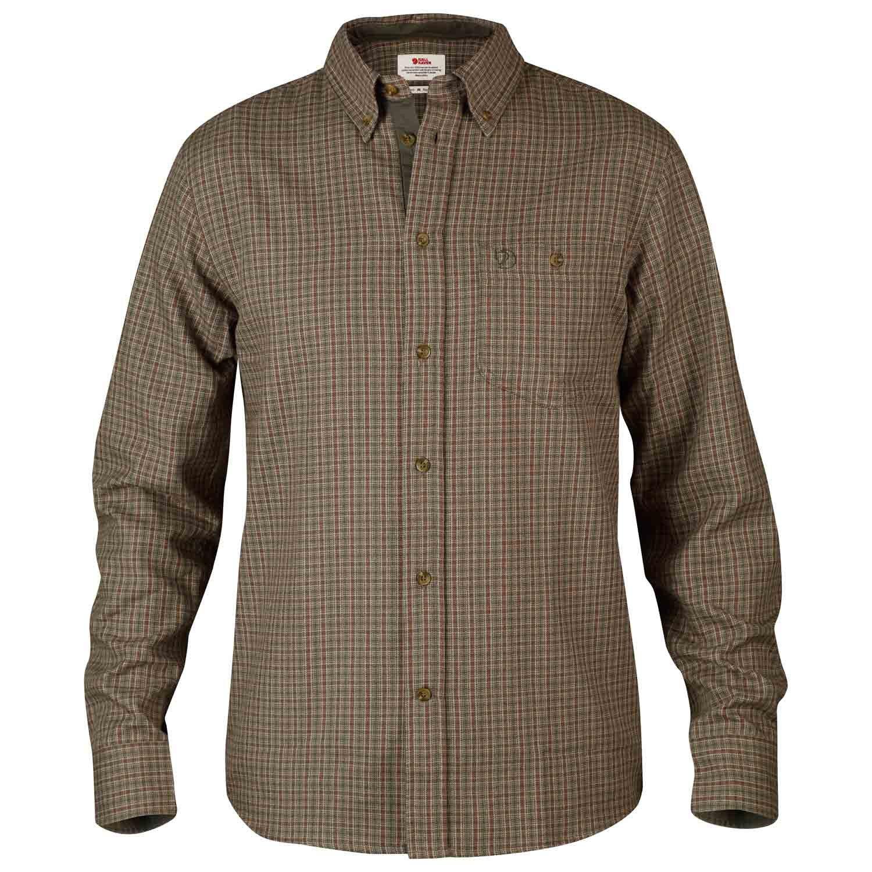 Fjällräven Herren Kvarts Shirt Oberhemd