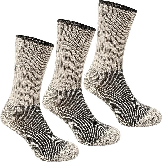 Karrimor Heavyweight Boot Ladies Socks 3 Pack Walking Hiking Warm UK 4-8 Beige