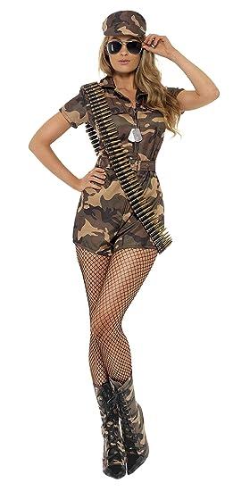 Armée Sexy Adulte Girl Costume Smiffy's Déguisement De dxBCeo