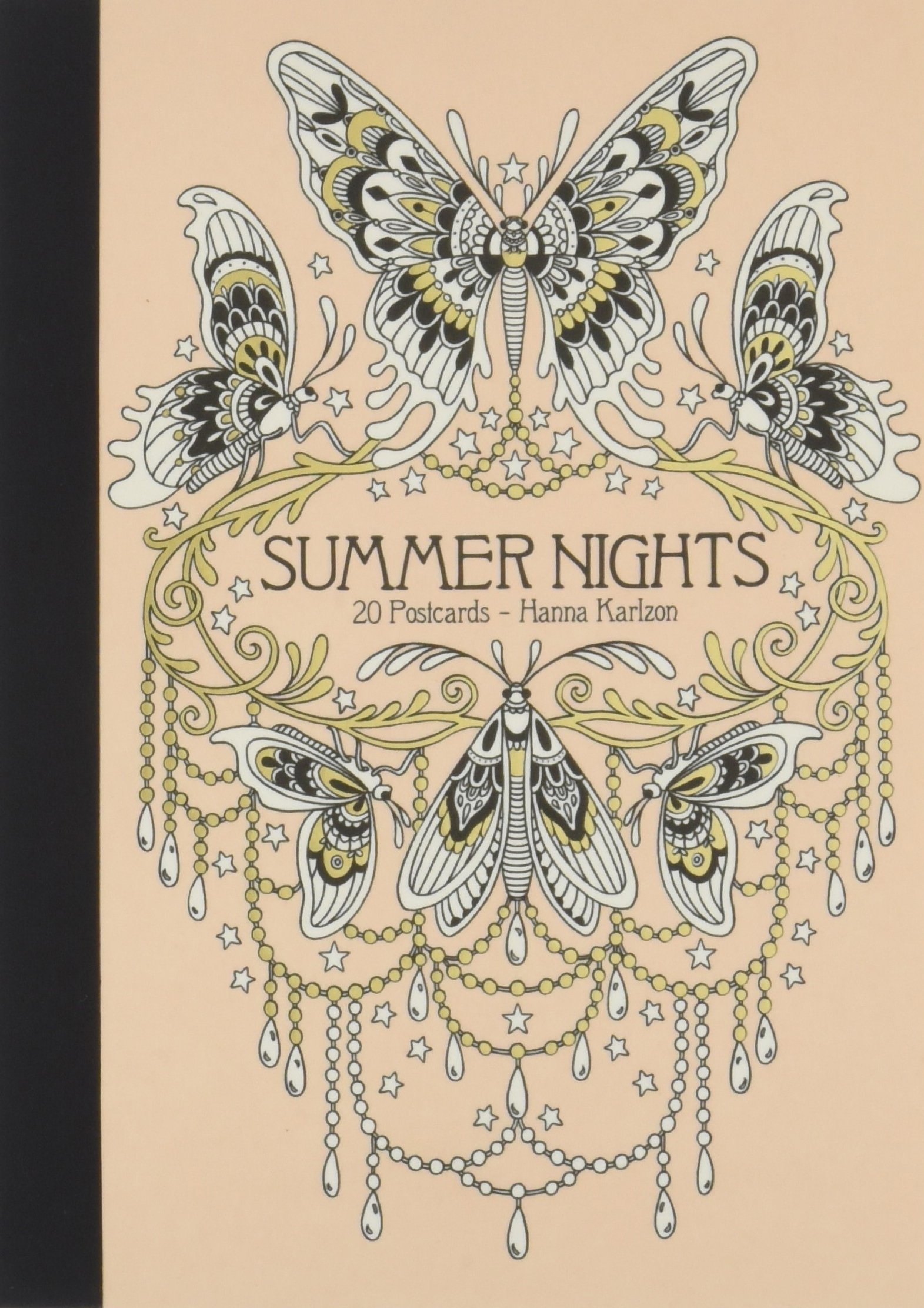 Summer Nights 20 Postcards: Published in Sweden as Sommarnatt