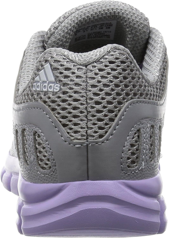 adidas Damen Breeze 101 2 Laufschuhe Grau Mid Grey Ftwr White Purple Glow