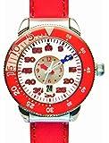 合格時計(ゴウカクトケイ) 婦人or子ども 38mm レッド 受験用腕時計