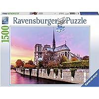 Ravensburger Picturesque Notre Dame Puzzle 1500pc,Adult Puzzles
