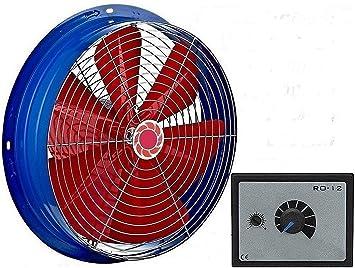 300mm Industrial Ventilador +10A REGULADOR Ventilación extractor ...