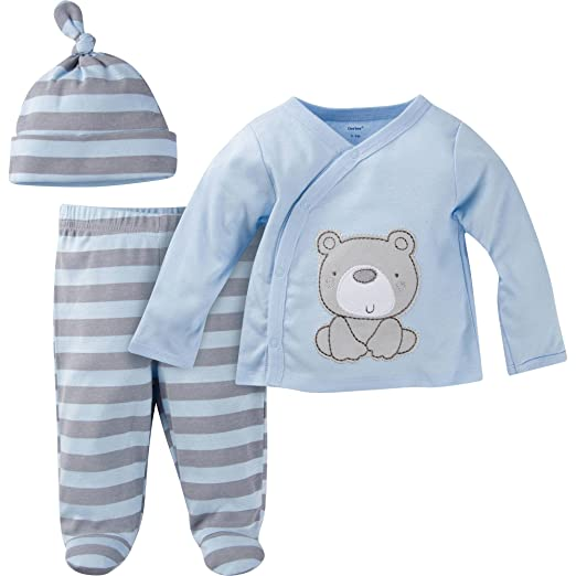 7d2c2bce94162 Image Unavailable. Image not available for. Color: Gerber Newborn Baby Boy  Take-Me-Home ...