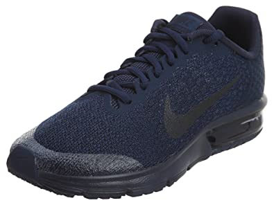 sale retailer fc96d 32396 Nike Kids  Air Max Sequent 2 Running Shoe (6, Obsidian)