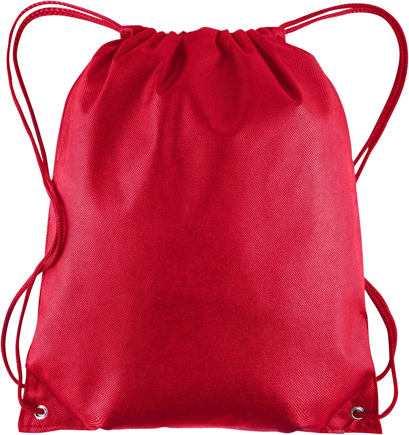 School Bags and More! Cheap Drawstring Cinch Bags for Kids 25 Pack Unisex Wholesale Drawstring Backpacks in Bulk Gym Bags