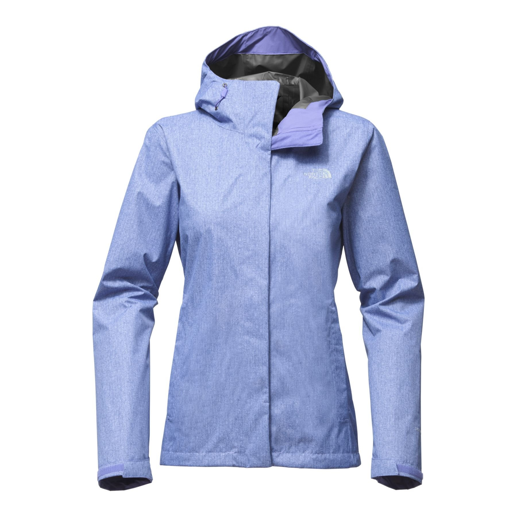The North Face Women's Print Venture Jacket - Stellar Blue Denim Print - S by The North Face