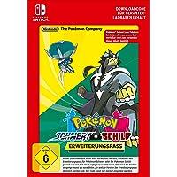 Pokémon Schwert oder Pokémon Schild: Erweiterungspass | Nintendo Switch - Download Code